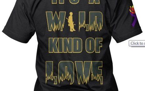 wild kind of love tshirt