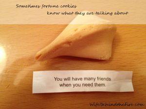 fortune cookie friends