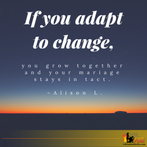 adapt to change marriage in tact