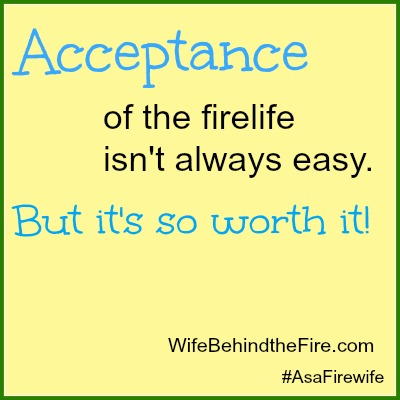 Acceptance as a Firewife