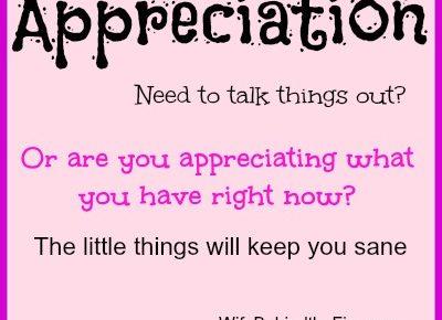 appreciation firewife
