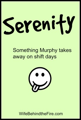 Serenity as a Firewife