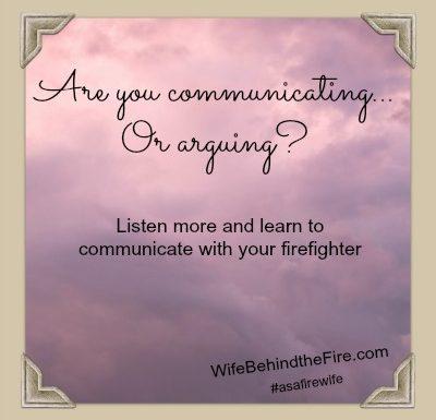 communicate as a firewife