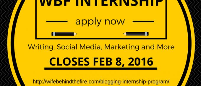 wbf spring internship