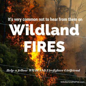 wildland firefighters girlfriend