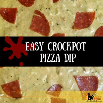 Easy Crockpot Pizza Dip