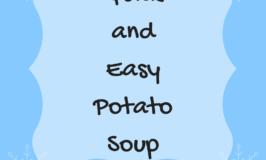 Quick and Easy Potato Soup