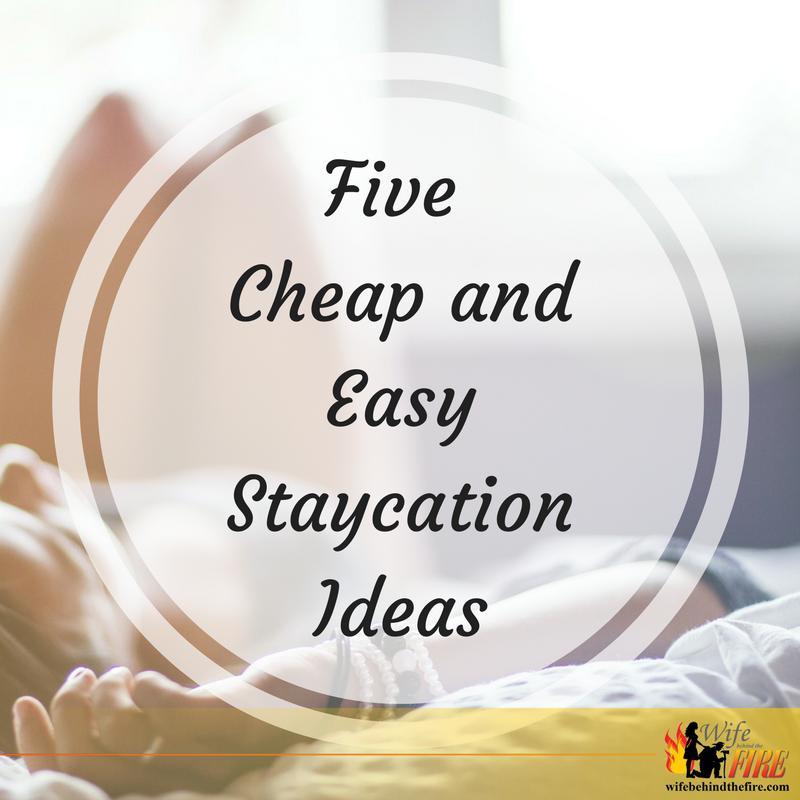 staycation ideas