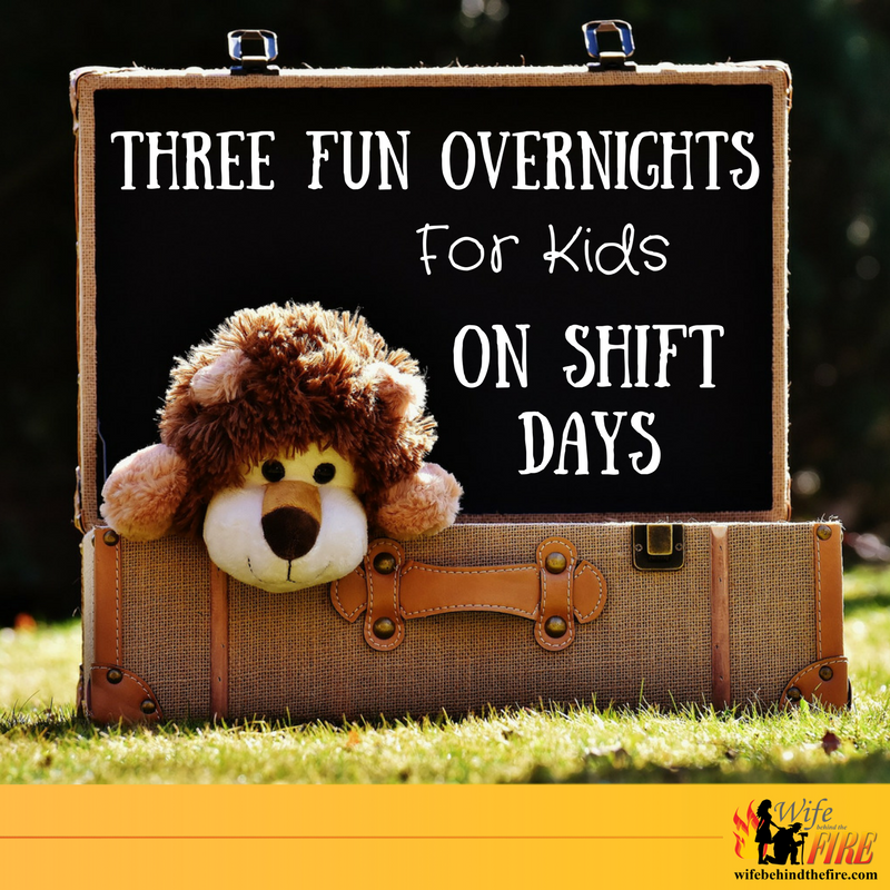 three fun overnights for kids on shift days