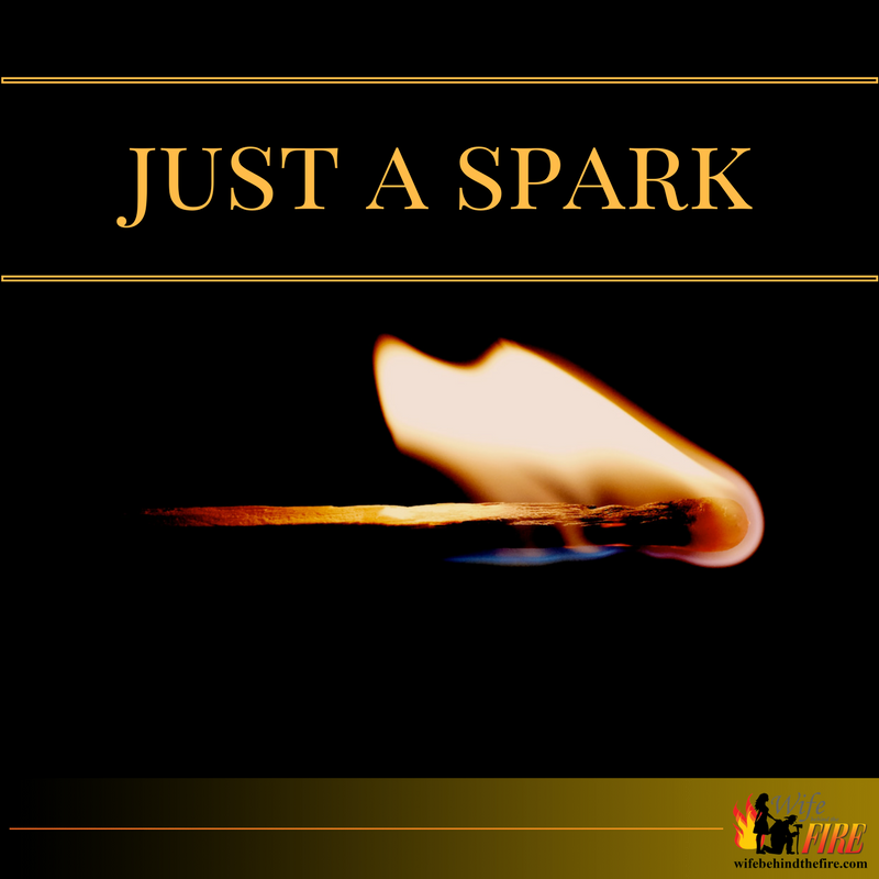 just a spark