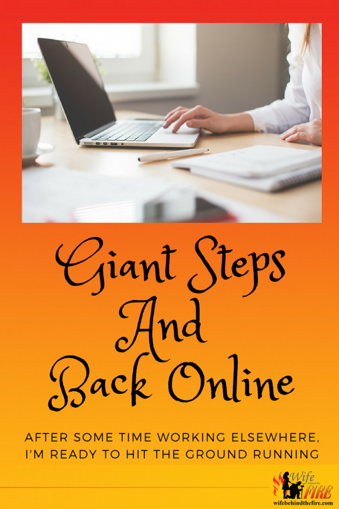 giant steps to back online