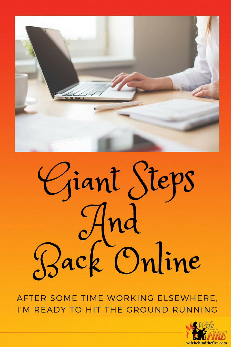 Giant Step and Back Online