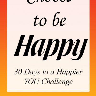 Can You Choose To Be Happy?