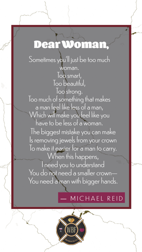 dear woman poem