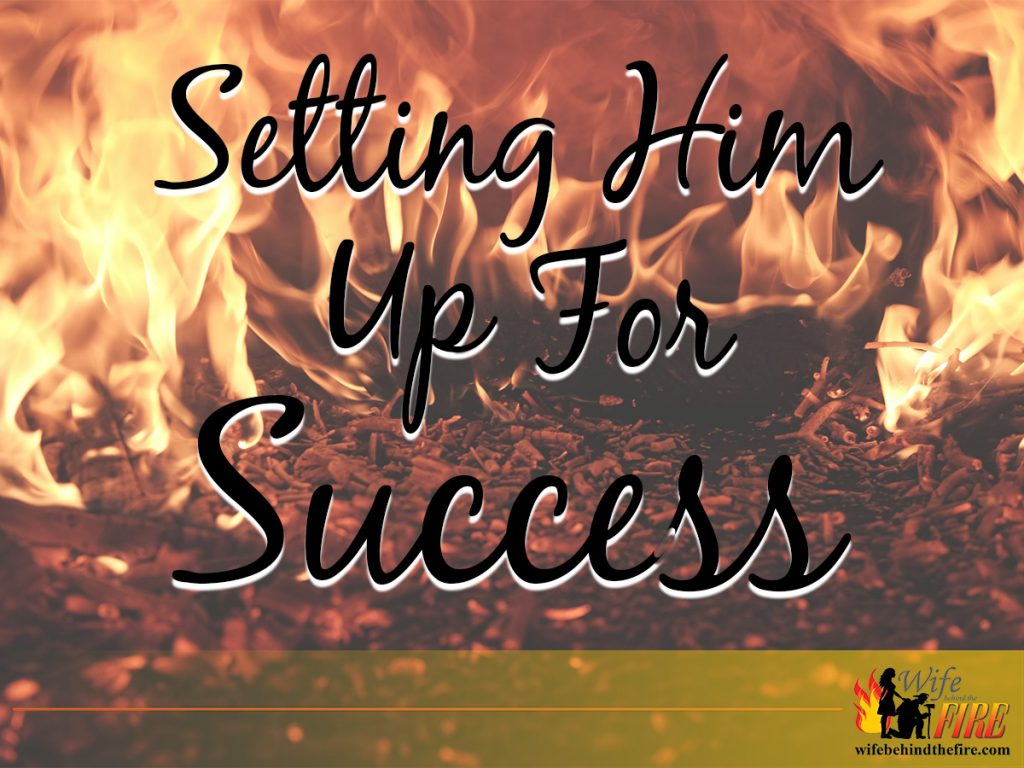 setting your firefighter up for success