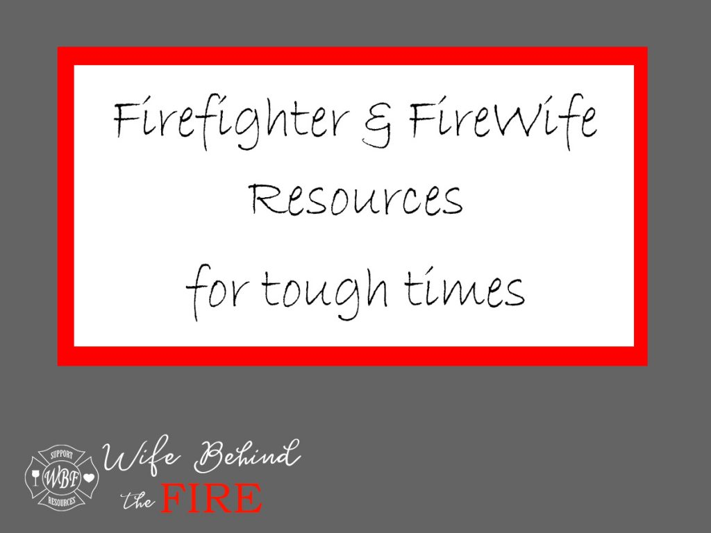 firefighter firewife resources