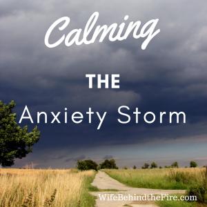 calming firewife anxiety