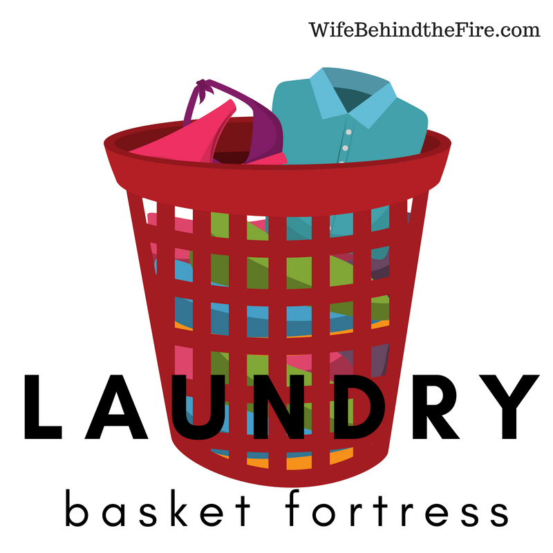 firewife laundry piles up