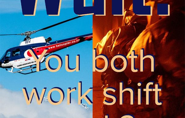 both work shifts